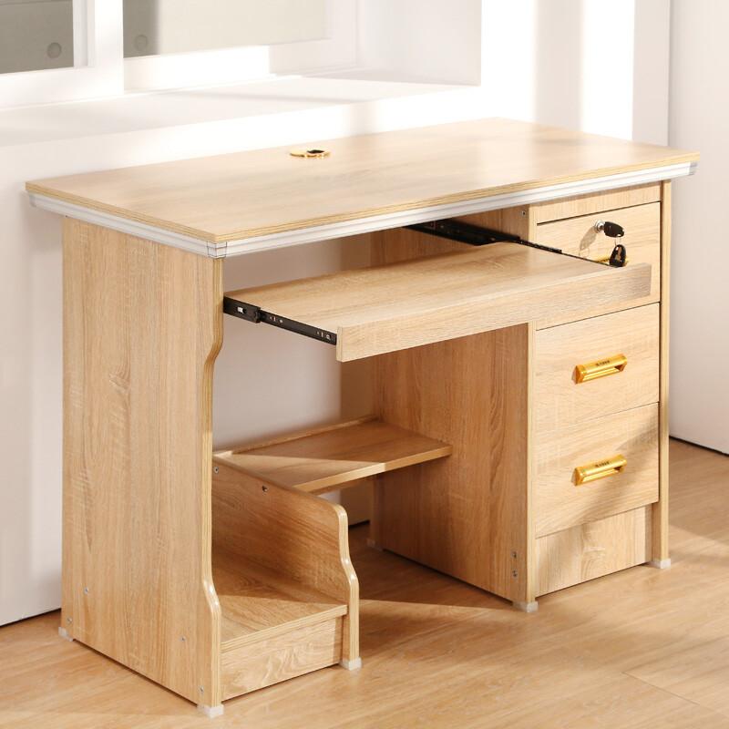 概念家居 多抽實用電腦書桌 單人1米 書桌椅 電腦桌 工作桌 學生桌椅 三抽 ls-101