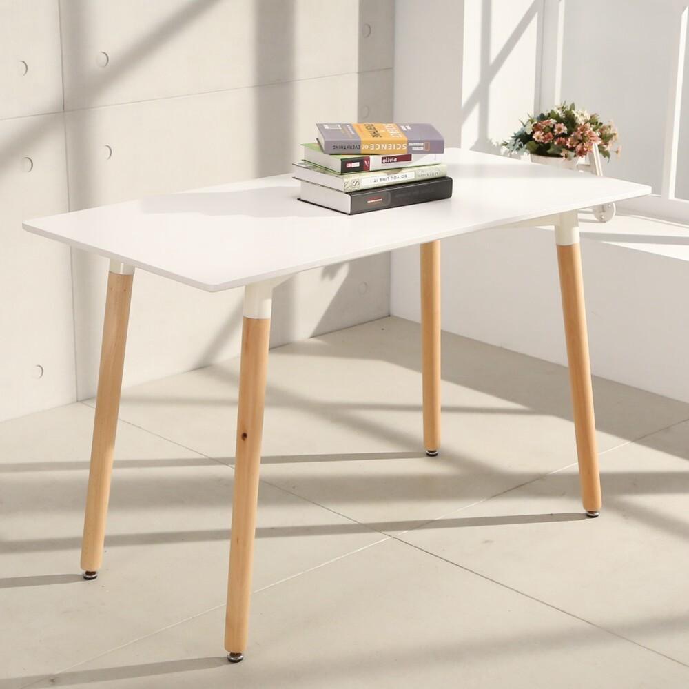 概念家居  北歐風簡約120*60cm電腦桌  餐桌 休閒桌 書桌  t12060