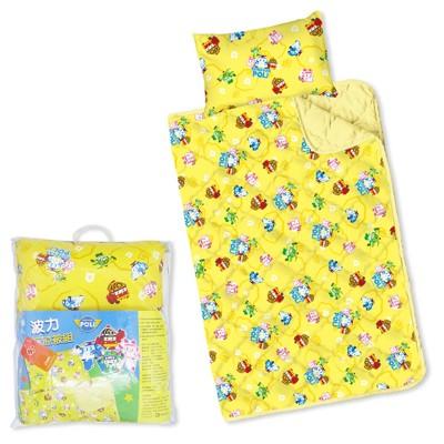 【 Babytiger虎兒寶 】台灣製幼兒枕頭+棉被組 -POLI 救援小英雄 波力~限時特賣 (6.3折)