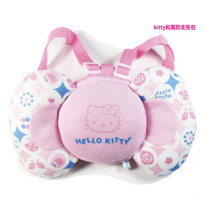 【BabyTiger虎兒寶】三麗鷗 HELLO KITTY 蝴蝶結造型 防走失包 (6.1折)