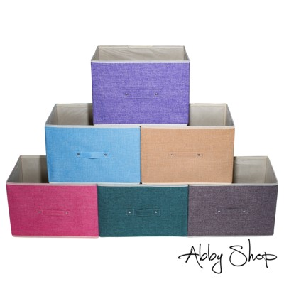 Abby生活百貨》新北歐風棉麻收納箱 三層櫃抽屜置物盒 摺疊收納箱 摺疊整理箱 收納【新】