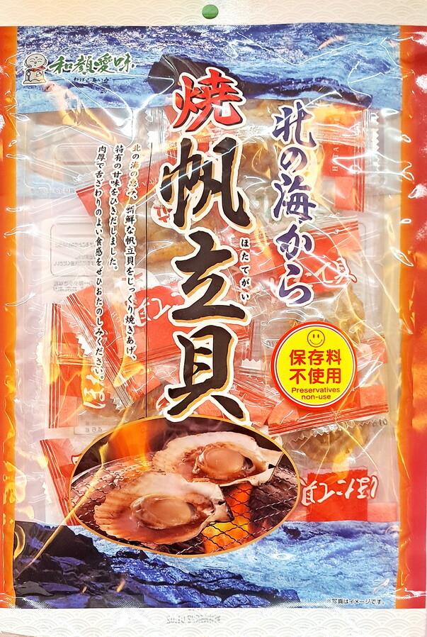 日本國產北海道干貝糖110g)/包