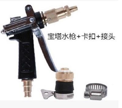 高壓洗車水槍家用噴頭水管刷車汽車水槍頭TPE水帶全銅洗車器套裝 (7.4折)
