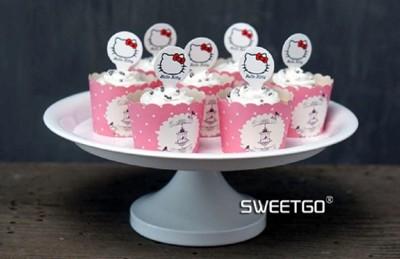 西式高腳圓盤婚慶甜品台架子鐵藝點心盤8寸蛋糕盤白色金屬托盤 (8.3折)