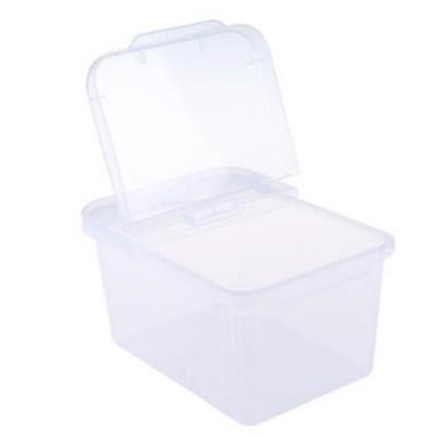食品級多用活動蓋儲物箱4KG小容量高透明掀蓋儲米箱米桶 (6.6折)