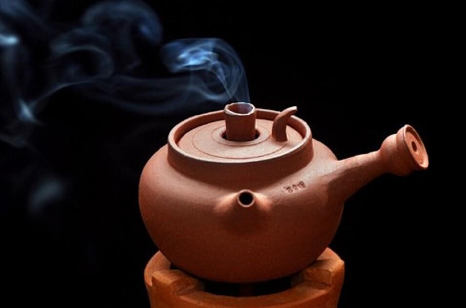 粗陶煮茶壺炭火燒水壺功夫茶原礦老岩泥泡茶急須壺