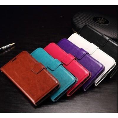 索尼z2迷你手機套z3mini保護套z4防摔全包錢包款翻蓋男女真皮套1入 (10折)
