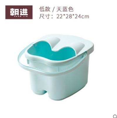 朝進加高加厚足浴桶帶蓋按摩泡腳桶足浴盆塑料洗腳桶洗腳盆家用桶 (8折)