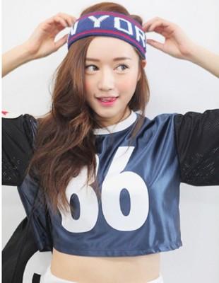 韓國洗臉頭帶頭套運動頭飾毛線彈力寬邊髮帶髮箍潮男女髮飾品 (5.2折)