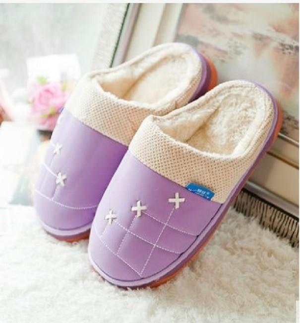 冬天棉拖鞋跟防滑厚底室內居家居拖鞋