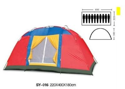 10人超大休閒帳篷送2張墊野營帳篷大帳篷多人帳篷十人 (9.6折)