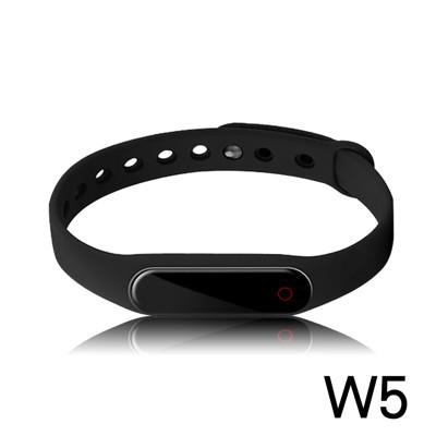 【 長江 】W5 觸控炫彩多功能藍牙心率手環 (6.1折)