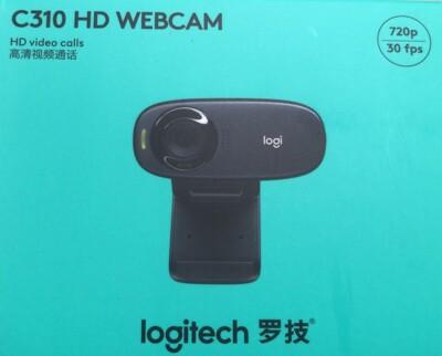 Logitech /羅技 C310 HD 有線網路攝影機 全球保固 陸版 (5.5折)