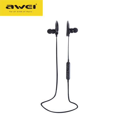 《AWEI》A620BL 磁吸智能運動掛耳式藍牙4.0耳機 (5.7折)