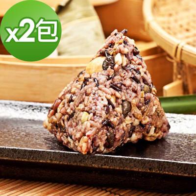 樂活e棧-三低素食養生粽子2包(6顆/包)