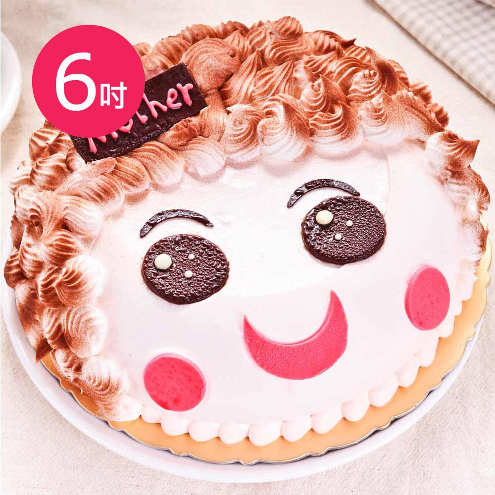 樂活e棧-生日快樂造型蛋糕-真愛媽咪蛋糕(6吋/顆)