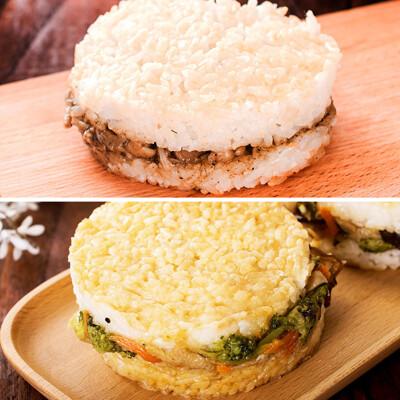 樂活e棧 綜合米漢堡(6顆/袋)-全素 (5.4折)