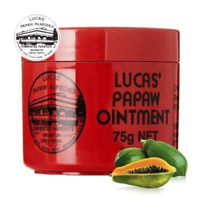 澳洲木瓜霜 Lucas Papaw Ointment 原裝進口正貨 (75g/瓶,共1入) (7.3折)