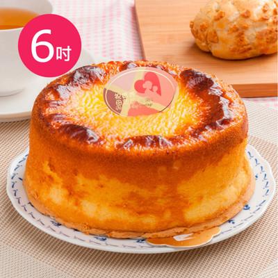 樂活e棧-生日快樂造型蛋糕-岩燒起司蜂蜜蛋糕(6吋/顆) (6折)