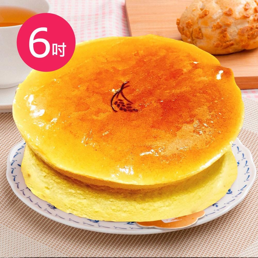 樂活e棧-生日快樂蛋糕-就是單純乳酪蛋糕(6吋/顆)
