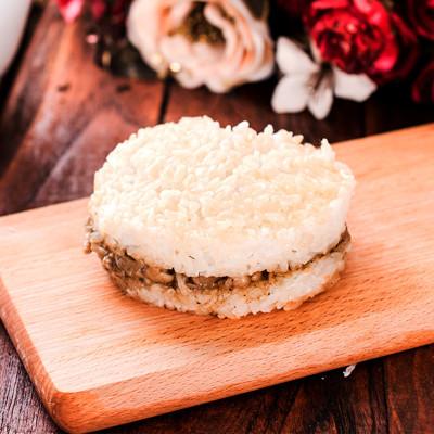 【樂活e棧】素沙茶鮮菇米漢堡-素食可食(6顆/包) (6.4折)