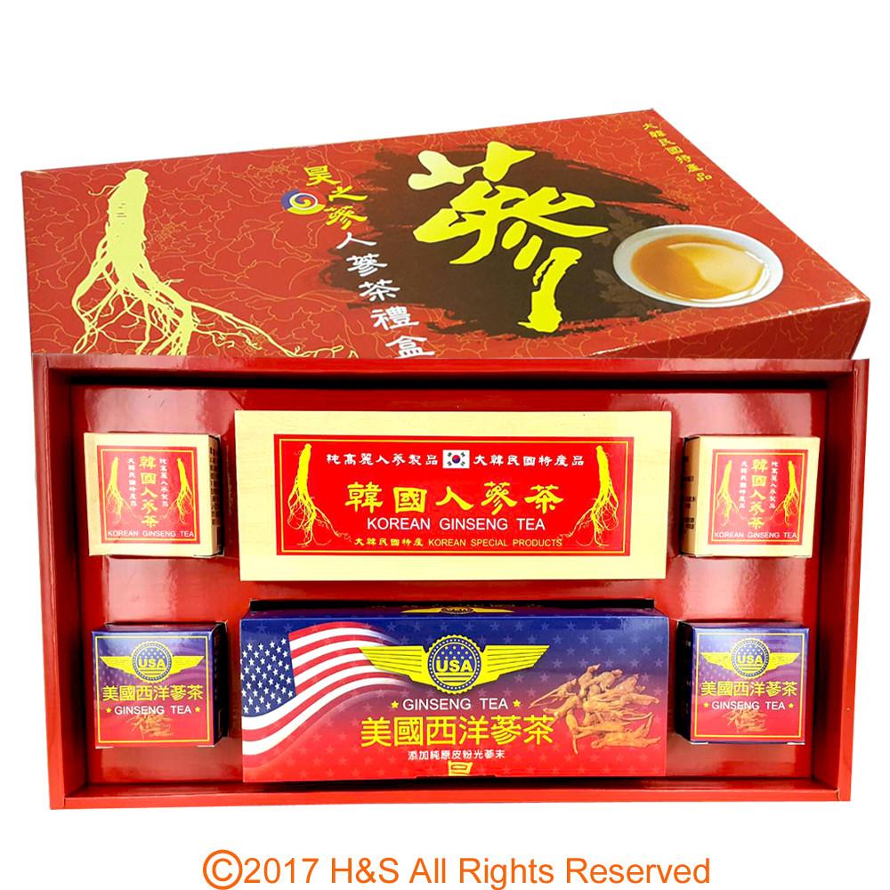 瀚軒昊之蔘高級人蔘茶禮盒