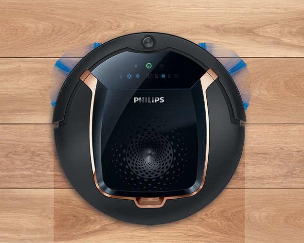 福利品philips 飛利浦掃地機器人fc8820(q)