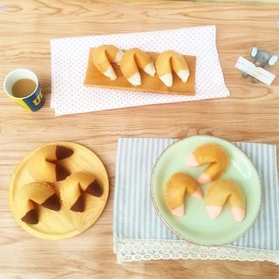 生日禮物 幸運餅乾 濃厚巧克力風味8入幸運籤餅 迷人酒紅禮盒 FORTUNE COOKIES (0.8折)