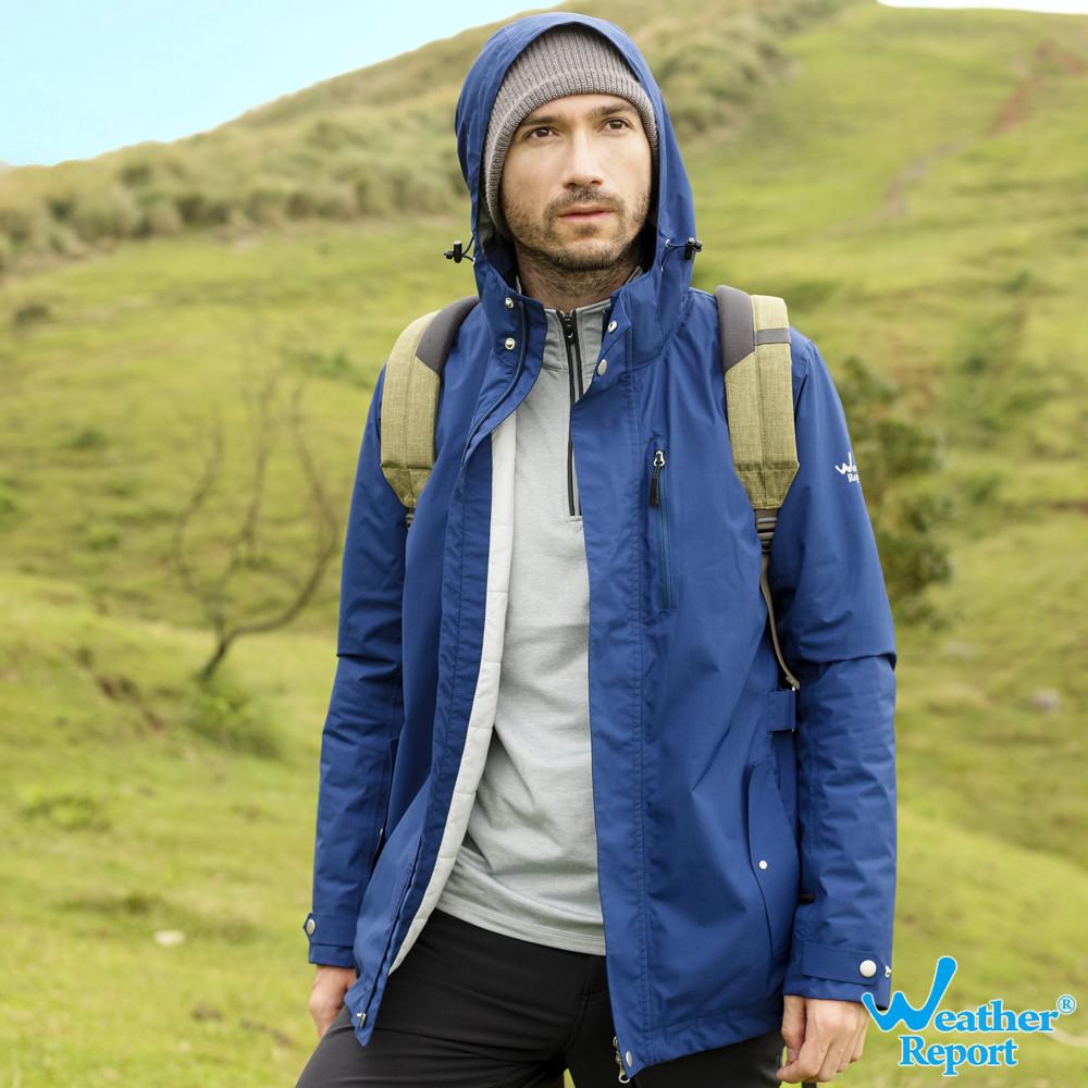 北歐weather reportairtech 防水透濕保暖鋪棉男外套  #4色