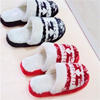 【禮物下殺↘↘↘↘】北歐麋鹿防滑拖鞋  ★室內拖鞋★ (2.6折)