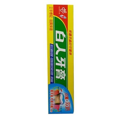 白人牙膏牙刷系列 雙氟+雙鈣牙膏65g (2.5折)