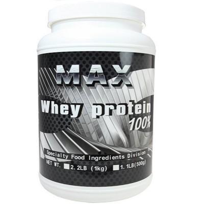 美國進口MAX乳清蛋白 1KG/瓶 (4.6折)