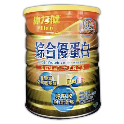 三多 偉力健綜合優蛋白 500g/瓶 (4.1折)