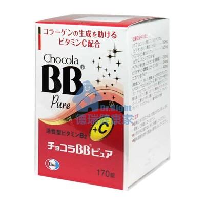 俏正美 日本原裝  Chocola BB pure 170錠/瓶 (4.1折)