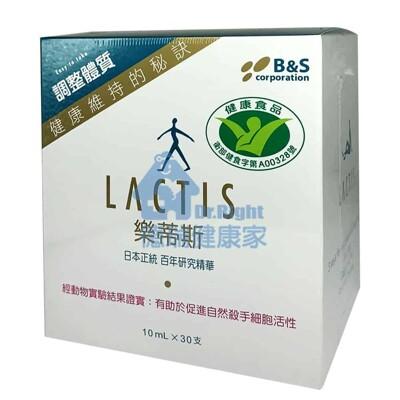 LACTIS 樂蒂斯 乳酸菌大豆發酵萃取液 10ml*30支/盒 (8.6折)