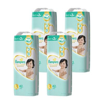 幫寶適 現貨含稅整箱出 免運費 日本幫寶適 一級幫 日本境內 黏貼型 l m 日本製 (9.3折)