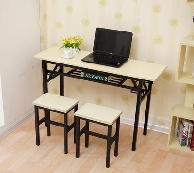桌子 書桌 100*40*75CM 工作桌 辦公桌 折疊桌 長條桌子 會議桌 餐桌 課桌 電腦桌 (7.7折)