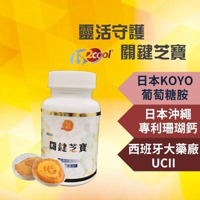 關鍵芝寶 專利UC2 葡萄糖胺 鈣 UC-II 二型膠原蛋白 維骨力 運動保健 骨本保健 (9.4折)