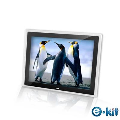 逸奇e-Kit 15吋相框電子相冊(共四款)-透明邊框黑色款 DF-V801_TB (7.4折)