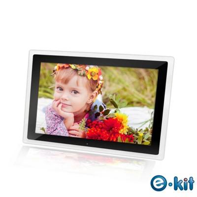 逸奇e-Kit 12吋相框電子相冊(共四款)-透明邊框黑色款 DF-V601_TB (6.9折)