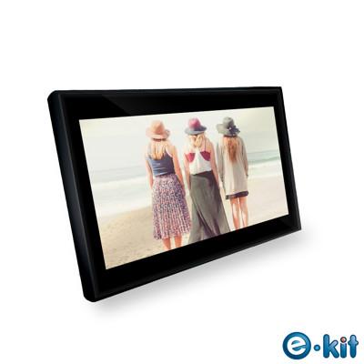 逸奇e-Kit 10吋防刮鏡面數位相框(共兩款)-黑色款 DF-G20_BK (5.8折)