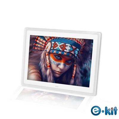 逸奇e-Kit 15吋相框電子相冊(共四款)-透明邊框白色款 DF-V801_TW (7.4折)