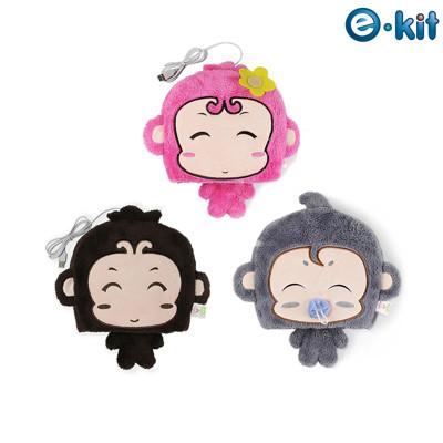 逸奇e-Kit  冬天保暖用品 可愛小猴子 保暖滑鼠墊USB保暖手墊 滑鼠墊 可拆洗 UW-MS30 (6.8折)