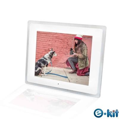 逸奇e-Kit 10.2吋相框電子相冊(共四款)-透明邊框白色款 DF-V501_TW (7.1折)