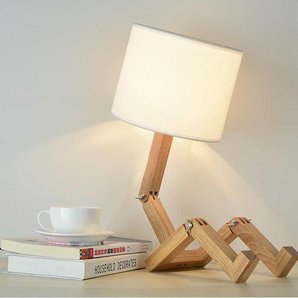 皮諾丘人形桌燈
