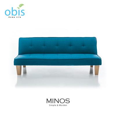 【obis】MINOS 現代風簡約布沙發床 (5.4折)