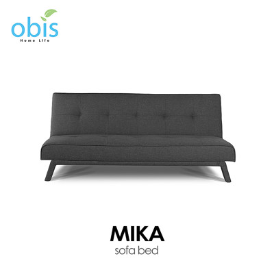 【obis】MIKA 現代風簡約布沙發床 (6.7折)