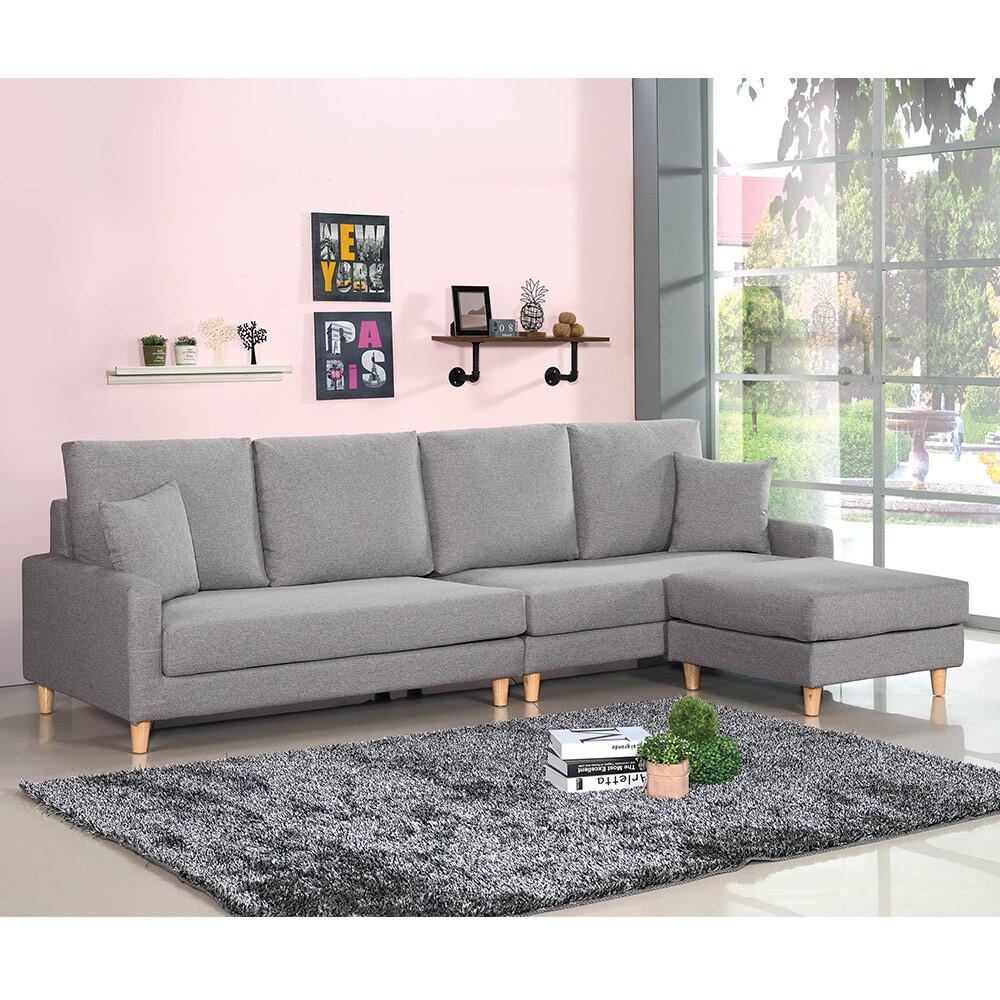 諾可西l型布沙發