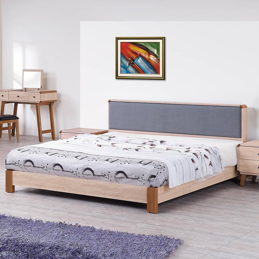 柏克5尺雙人床架/床組