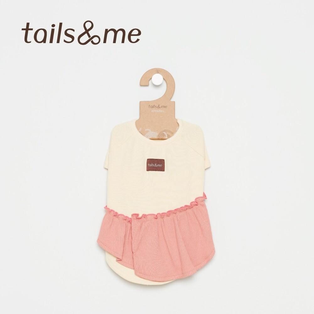 hoi! tails&me 尾巴與我-荷葉邊上衣(xs)黃粉
